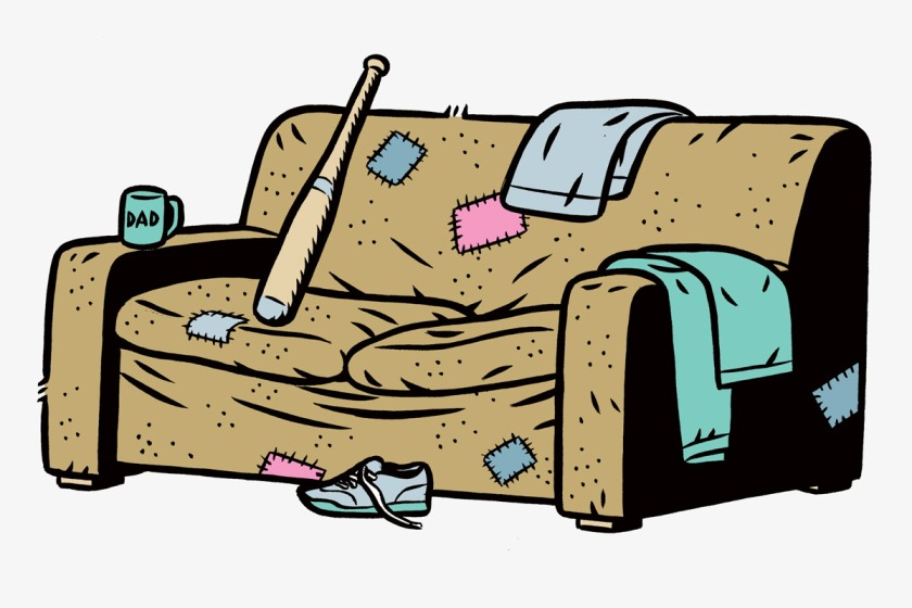 The Madness: Don't Slouch on The Couch