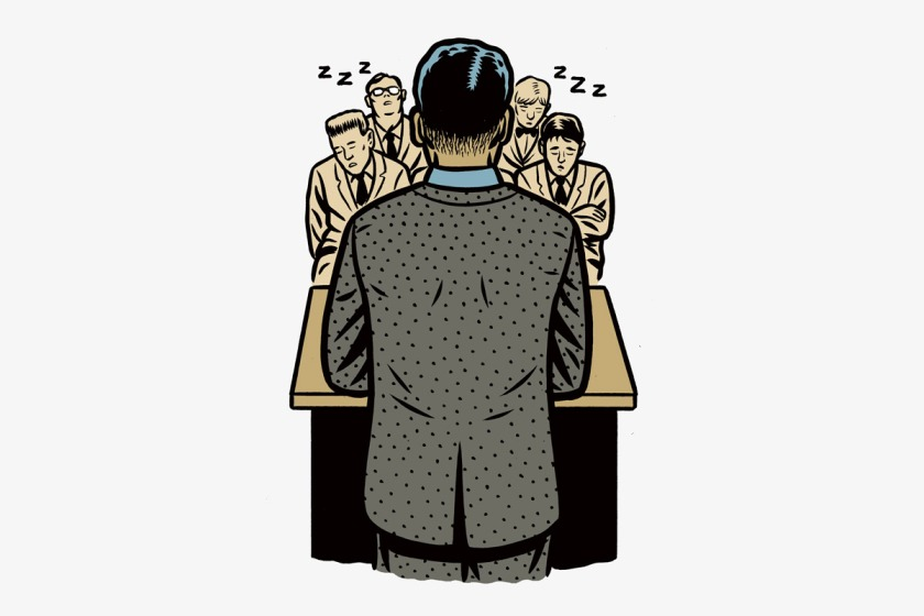 The Madness: The Pressure Cooker of Public Speaking