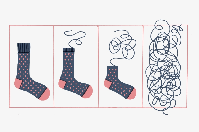 The Fancy Sock Paradox
